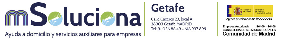mSoluciona Getafe Logo